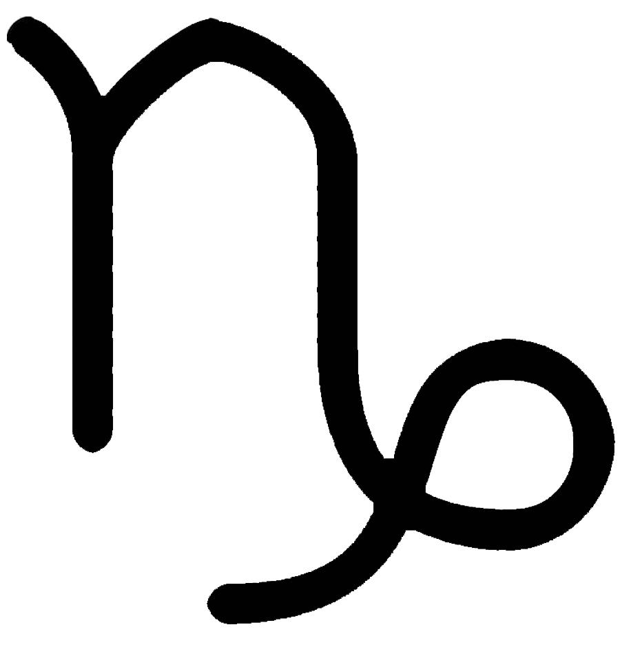 símbolo capricornio