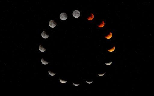 fases de la luna en el año 2020