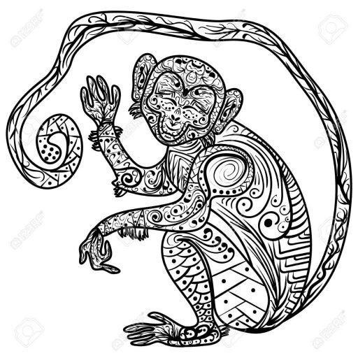 horoscopo maya mono