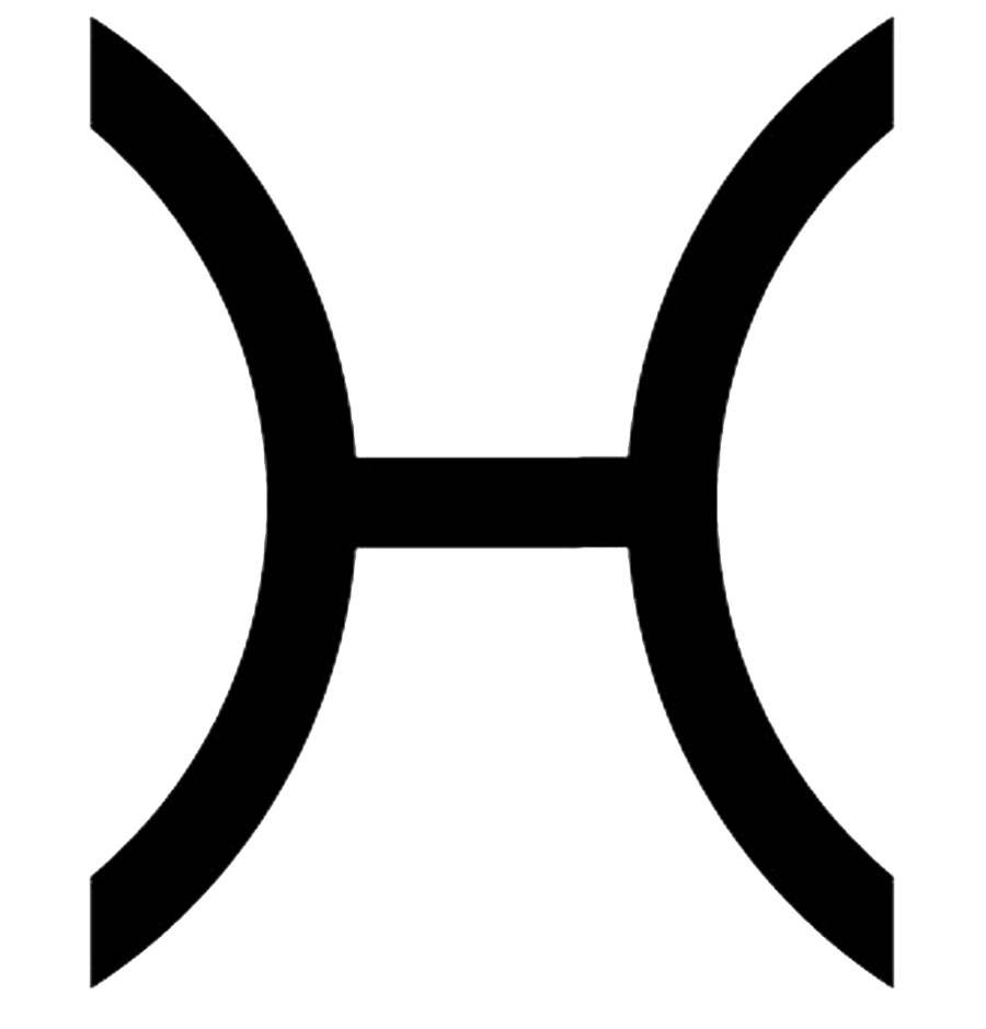 símbolo piscis
