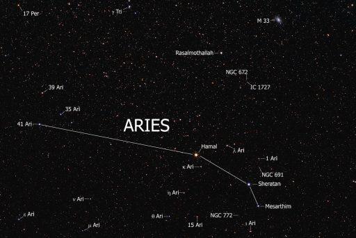 constelación aries