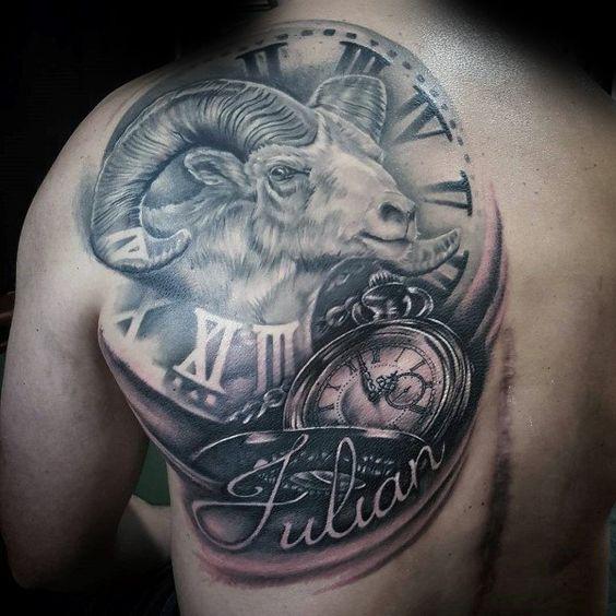 tatuajes signo aries mujeres