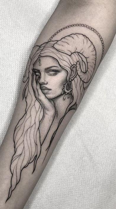 aries tatuaje